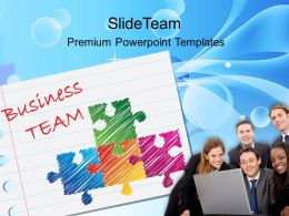 Business Planning Strategy Powerpoint Templates Team Process Ppt Slides