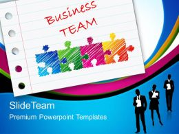 Business Planning Strategy Powerpoint Templates Team Success Ppt Slides