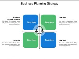 Business Planning Strategy Ppt Powerpoint Presentation Model Influencers Cpb