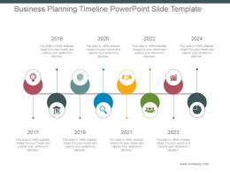 Business Planning Timeline Powerpoint Slide Template