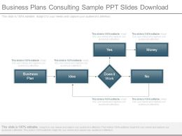 Business Plans Consulting Sample Ppt Slides Download