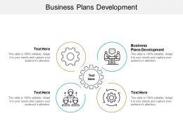Business Plans Development Ppt Powerpoint Presentation Tips Cpb