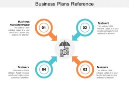 Business Plans For Reference Ppt Powerpoint Presentation File Outline Cpb