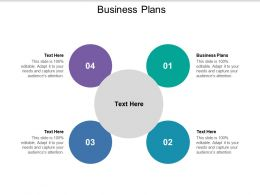 Business Plans Ppt Powerpoint Presentation Outline Designs Cpb