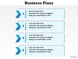 business plans using numbered lists for planning bullet points powerpoint templates 0712