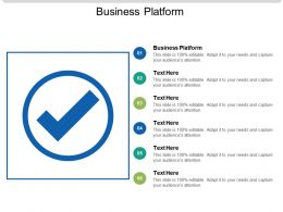 Business Platform Ppt Powerpoint Presentation Slides Example File Cpb