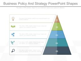 Business Policy And Strategy Powerpoint Shapes