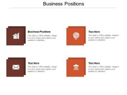 Business Positions Ppt Powerpoint Presentation File Professional Cpb