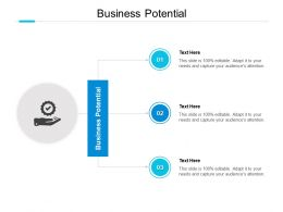 Business Potential Ppt Powerpoint Presentation Gallery Summary Cpb