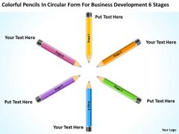 Business Power Point Development 6 Stages Powerpoint Templates PPT Backgrounds For Slides