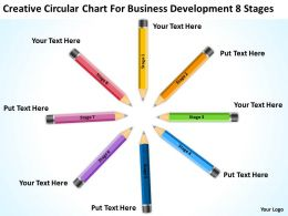 Business Power Point Development 8 Stages Powerpoint Templates PPT Backgrounds For Slides