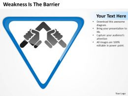 business_powerpoint_examples_weakness_is_the_barrier_slides_0515_Slide01