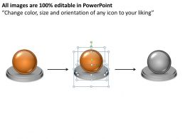 Business PowerPoint Templates 3d animated 2 circular approaches comparison Sales PPT Slides