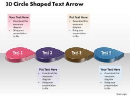 business_powerpoint_templates_3d_circle_shaped_text_arrow_sales_ppt_slides_Slide01