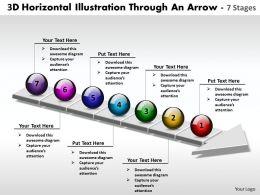 business_powerpoint_templates_3d_horizontal_illustration_through_an_arrow_7_stages_sales_ppt_slides_Slide01