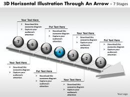 business_powerpoint_templates_3d_horizontal_illustration_through_an_arrow_7_stages_sales_ppt_slides_Slide05