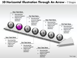 business_powerpoint_templates_3d_horizontal_illustration_through_an_arrow_7_stages_sales_ppt_slides_Slide07