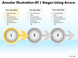 business_powerpoint_templates_annular_illustration_of_3_stages_using_arrow_sales_ppt_slides_Slide02