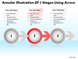 business_powerpoint_templates_annular_illustration_of_3_stages_using_arrow_sales_ppt_slides_Slide03