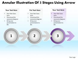 business_powerpoint_templates_annular_illustration_of_3_stages_using_arrow_sales_ppt_slides_Slide04