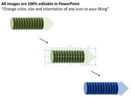 Business PowerPoint Templates circular interpretation of 12 steps involved procedure Sales PPT Slides