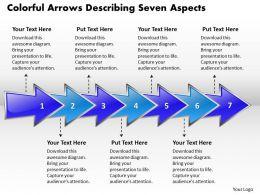 business_powerpoint_templates_colorful_arrows_describing_seven_aspects_sales_ppt_slides_Slide01
