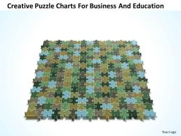 Business PowerPoint Templates creative Sales Puzzle charts for and education PPT Slides