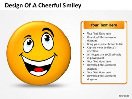 Business PowerPoint Templates design of cheerful smiley Sales PPT Slides 117