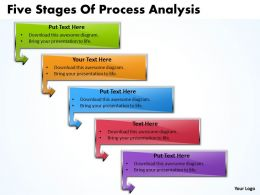 Business PowerPoint Templates five phase diagram ppt of process analysis Sales Slides 5 stages