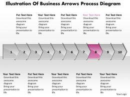 business_powerpoint_templates_illustration_of_arrows_process_diagram_sales_ppt_slides_10_stages_Slide09