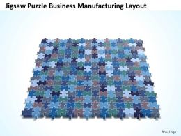 Business PowerPoint Templates jigsaw Sales Puzzle manufacturing layout PPT Slides