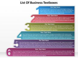 business_powerpoint_templates_list_of_textboxes_sales_ppt_slides_Slide01