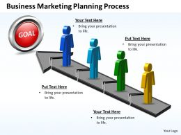 Business PowerPoint Templates marketing planning process Sales PPT Slides