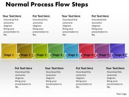 Business PowerPoint Templates normal process flow theme steps Sales PPT Slides 8 stages