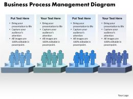 Business PowerPoint Templates process management diagram Sales PPT Slides