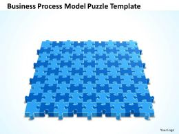Business PowerPoint Templates process model Puzzle Sales PPT Slides