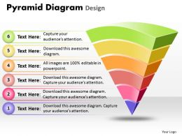Business PowerPoint Templates pyramid diagram design Sales PPT Slides