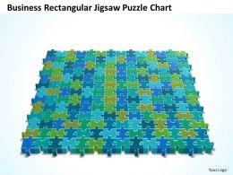 Business PowerPoint Templates rectangular jigsaw Problem Solving Puzzle Piece chart Sales PPT Slides