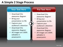 Business PowerPoint Templates simple 2 stage 1