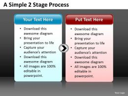Business PowerPoint Templates simple 2 stage circular flow editable Sales PPT Slides