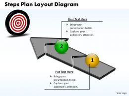 Business PowerPoint Templates steps plan layout diagram Sales PPT Slides