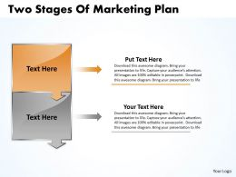 business_powerpoint_templates_two_state_diagram_ppt_of_marketing_plan_sales_slides_2_stages_Slide02