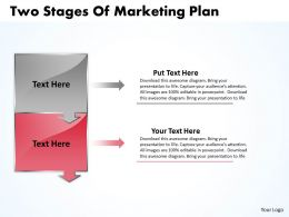 business_powerpoint_templates_two_state_diagram_ppt_of_marketing_plan_sales_slides_2_stages_Slide03
