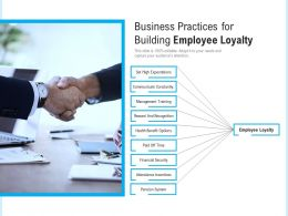 Business Practices For Building Employee Loyalty