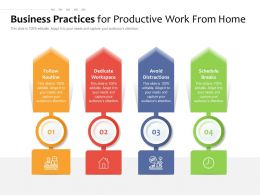 Business Practices For Productive Work From Home