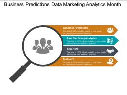 Business Predictions Data Marketing Analytics Month Financial Planning Cpb