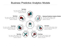 Business Predictive Analytics Models Ppt Powerpoint Presentation Styles Icon Cpb