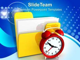Business Presentation Chart Templates Themes Information Technology Program