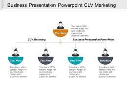Business Presentation Powerpoint Clv Marketing Cpb