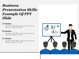 Business Presentation Skills Example Of Ppt Slide